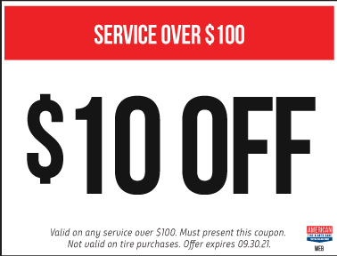 $10 off your service of $100 or more