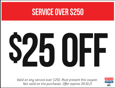 $25 off your service of $250 or more